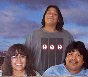 Emery, Glenetta & Jeff Eriacho