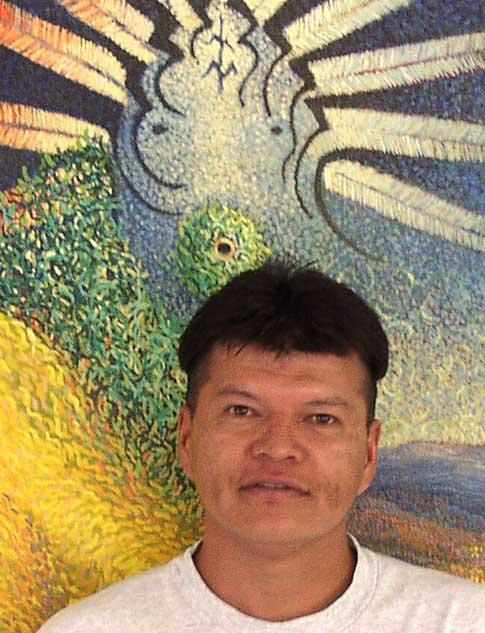 Patrick Scott - Navajo Prayer Feather Maker