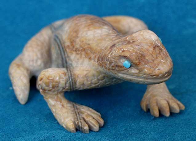 Vern Nieto lizard