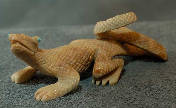 Bernie Laselute lizard
