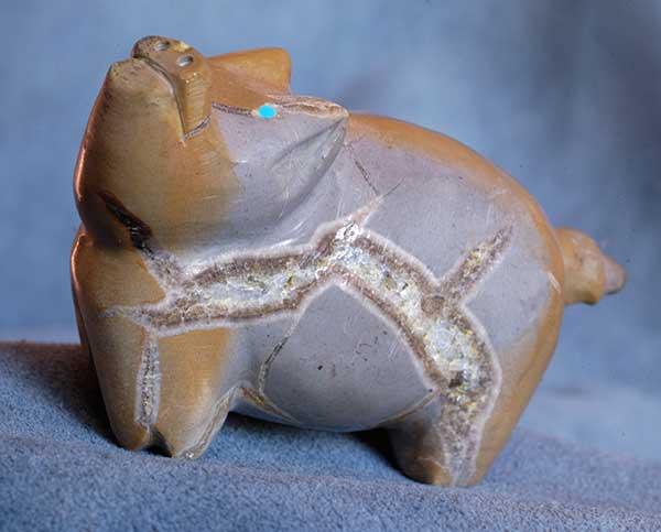 Freddie Leekya Zuni Fetish Pig