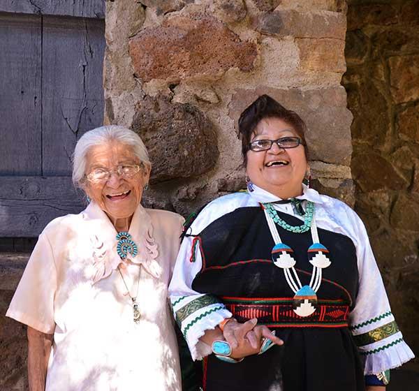 Thelma and Lorindia Sheche