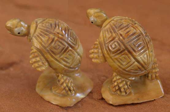 Zuni Fetish Turtles