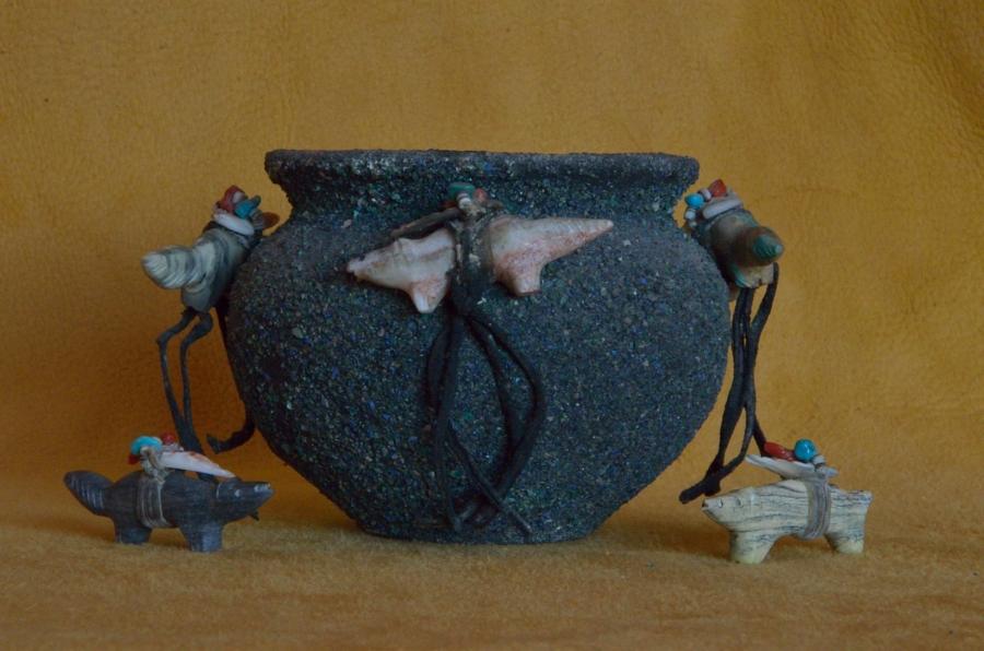 Zuni Fetish Bowl